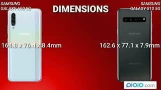 مقایسه گوشی Galaxy A9 و Galaxy S10