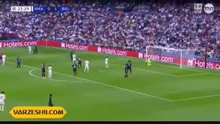 خلاصه بازی رئال مادرید2_2 کلوب بروژ (هفتۀ دوم مرحلۀ گروهی لیگ قهرمانان اروپا)