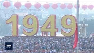 رژه بزرگ چین؛ یکسو تسلیحات، یکسو اعتراضات
