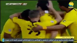 خلاصه بازی سپاهان 2_0 ذوبآهن (هفتۀ 6 لیگ برتر)