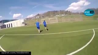 حرکات تکنیکی ونمایشی در فوتبال