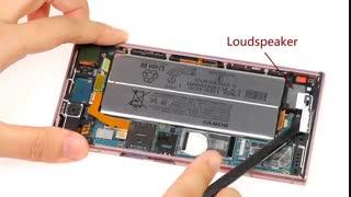 آموزش تعویض باتری گوشی سونی اکسپریا XZ1