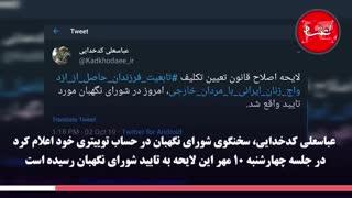 لایحه اعطای تابعیت فرزندان زنان ایرانی چگونه به تایید شورای نگهبان رسید؟