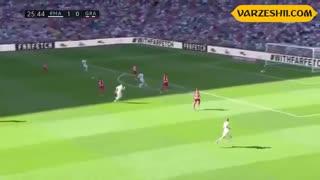 خلاصه بازی رئال مادرید 4_2 گرانادا (هفتۀ 8 لالیگا)