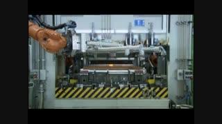 نمایشی از خط تولید خودروی بی ام و (BMW)