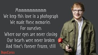 Photograph - Ed Sheeran (Lyrics)