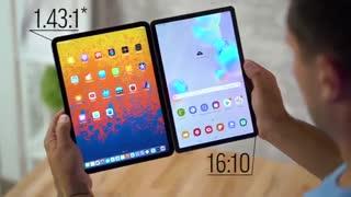 مقایسه تبلت های Galaxy Tab S6 و 2018 iPad Pro