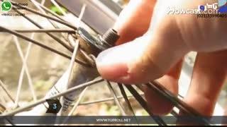 روان کاری بلبرینگ دوچرخه