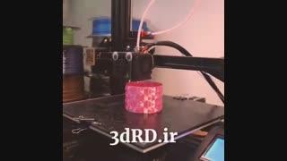 ساخت انواع قطعات دکوری خاص با پرینتر سه بعدی شرکت 3dRD