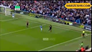 خلاصه بازی منچسترسیتی 0_2 ولورهمپتون (هفتۀ هشتم لیگ برتر انگلیس)