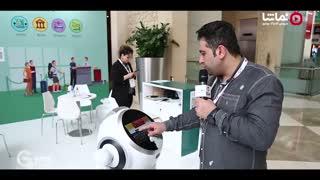 جیتکس پلاس سه:حضور ربات آلفا ایرانی در نمایشگاه جیتکس2019