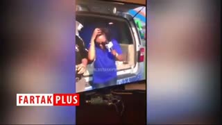آبروریزی خبرنگار مقابل دوربین زنده تلویزیونی