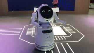 ویدئویی از ربات جیاساس که با برند یوبیتک (ubtech) تولید میشود