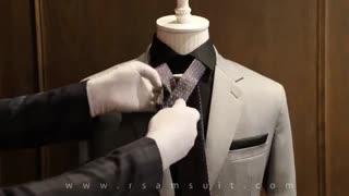 آموزش بستن گره کراوات (دو گره-کج)