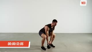 انفجار عضلات با 10 دقیقه تمرین توسط کتل بل