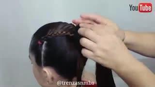 آموزش مدل مو دخترانه شینیون دم اسبی- مومیس مشاور و مرجع تخصصی مو