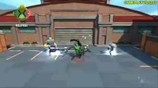 11 دقیقه گیم پلی بازی بن تن قدرت بی پایان Ben 10 Omniverse 2 برای کامپیوتر