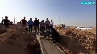 کمکرسانی امام جمعه اهواز در ساخت مواکب در مرز چذابه