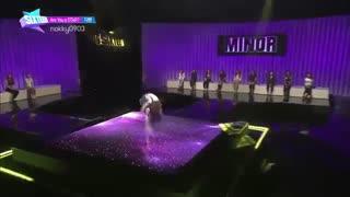 اجرای داهیون در برنامه سیکستین(همون رقص عقاب معروفشع)سال 2015
