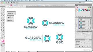 آموزش طراحی لوگو با نرم افزار ایلوستریتور - 2