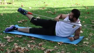 عضلات باسن - ورزیده کردن و بزرگ کردن عضله باسن با استفاده از فشار کش بدنسازی - احمدرضا امامی