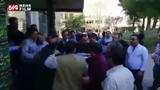 درگیری بین کارکنان و رئیس هیئت مدیره مترو تهران