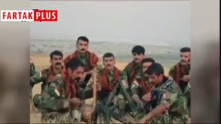 ویدیویی که نماینده مجلس از پیشمرگههای کُرد منتشر کرد
