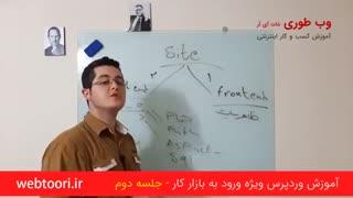 آموزش وردپرس ویژه ورود به بازار کار - 02