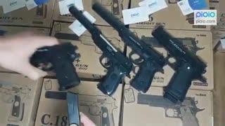تفنگ ساچمه ای فلزی ایرسافت گان