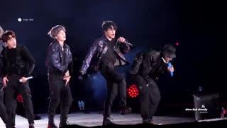 کنسرت BTS در Los Angeles فوکوس روی جیمین اجرای آهنگ Mic Drop / بی تی اس Jimin