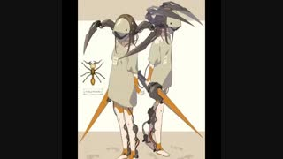 حشرات به شکل انیمه^~^