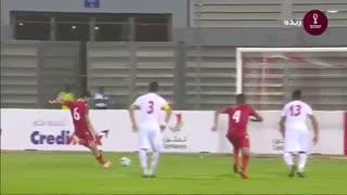 خلاصه بازی بحرین 1 - ایران 0 (مقدماتی جام جهانی 2022)