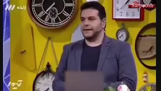 توهین مجری شبکه ۳ به علی دایی