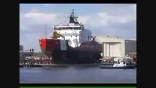 نحوه به آب انداختن کشتی ها