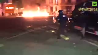 پنجمین شب خشونتها در بارسلون