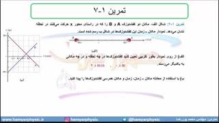 جلسه27 فیزیک دوازدهم-حرکت با سرعت ثابت 3-مدرس محمد پوررضا