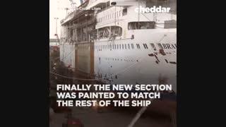 چگونه می توان طول یک کشتی را افزایش داد؟