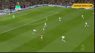 خلاصه بازی منچستریونایتد 1_1  لیورپول (هفۀ 9 لیگ برتر انگلیس)