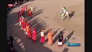 گزارش برگزاری مراسم تعزیهخوانی بیلند گناباد در شبکه استانی خراسان رضوی
