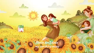 CHRISTINA PERRI - YOU ARE MY SUNSHINE [Lyric Video]