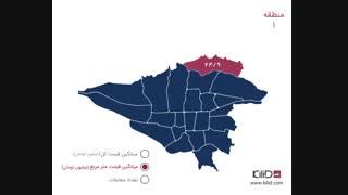 بازار مسکن تهران - خرداد ماه 1398
