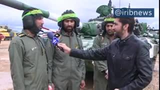 اقتدار نظامی ایران و نیشابور در مسابقات جهانی روسیه