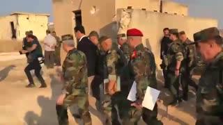 بازدید سرزده بشار اسد