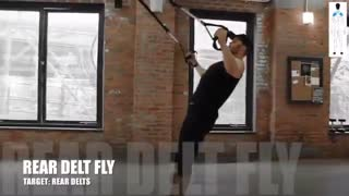 بیشترین حجم  عضلات با 41 تمرین TRX