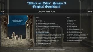 موسیقی متن فصل سوم انیمه حمله به تایتان Attack on Titan نسخه HD