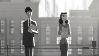 انیمیشن مرد کاغذی paperman
