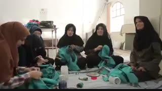 کارگاه تولید پوشاک، فقط معلولان