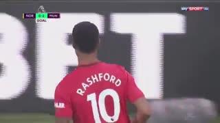 خلاصه بازی Norwich City - Manchester United