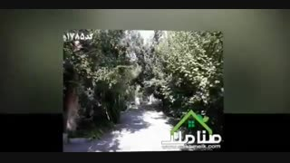 1000 متر باغ با درختان قدیمی کد1785