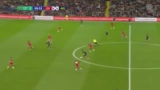 خلاصه بازی Liverpool - Arsenal